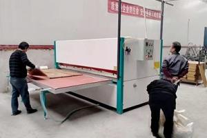 钢制货架热转印机