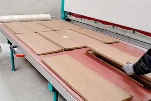 商超货架木纹转印机